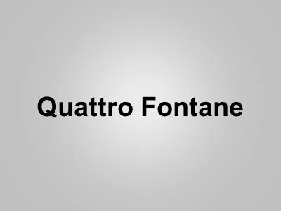Quattro Fontane