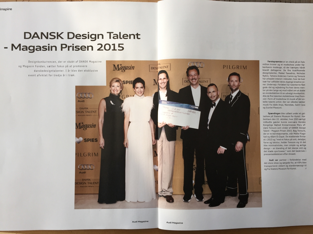 Dansk Design Talent 2015